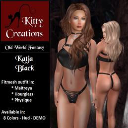 PIC Katja - Black - Kitty Creations