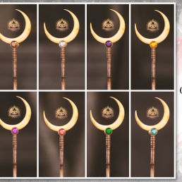 Simply Shelby Crescent Moon Staff