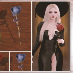 Simply Shelby Masquerade Rose Set 1024