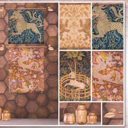 Simply Shelby Medieval Tapestry & Pot Collection