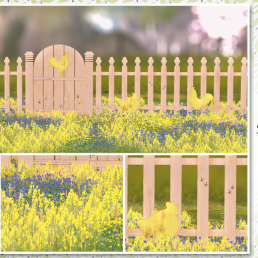 Simply Shelby Sweet Chicky Fence Set