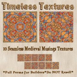 TT 10 Seamless Medieval Musings Timeless Textures 35LSUN