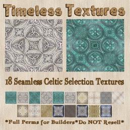 TT 18 Seamless Celtic Selection Timeless Textures 35LSUN