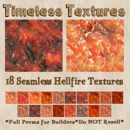 TT 18 Seamless Hellfire Timeless Textures 35L SUN