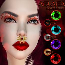 VENGE - Original Mesh -Aglaea Septum Piercings