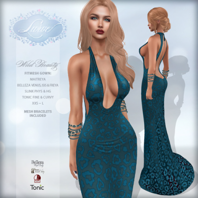 _Lurve_ Wild Beauty Gown - Teal - Vendor Pic 512x512