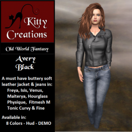 PIC Avery - Black - Kitty Creations