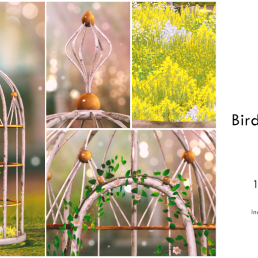 Simply Shelby Bird Cage Gazebo Adult rated