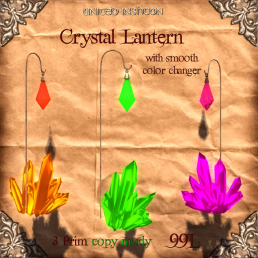 UI Crystal Lantern with Color Changer